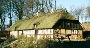 Østrup Skovhus hvor Axel Marinus og Johanne Baarup boede